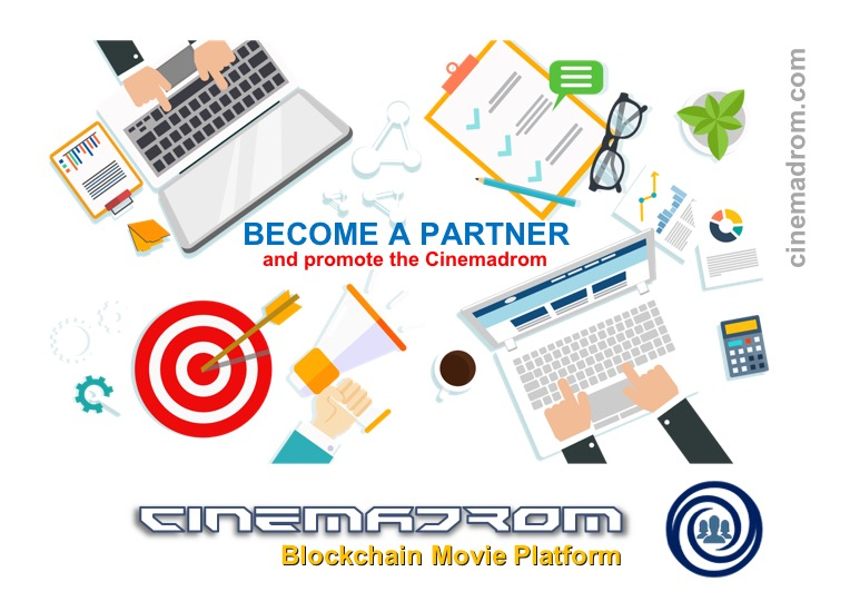 Earn BTC and ETH with the Cinemadrom.