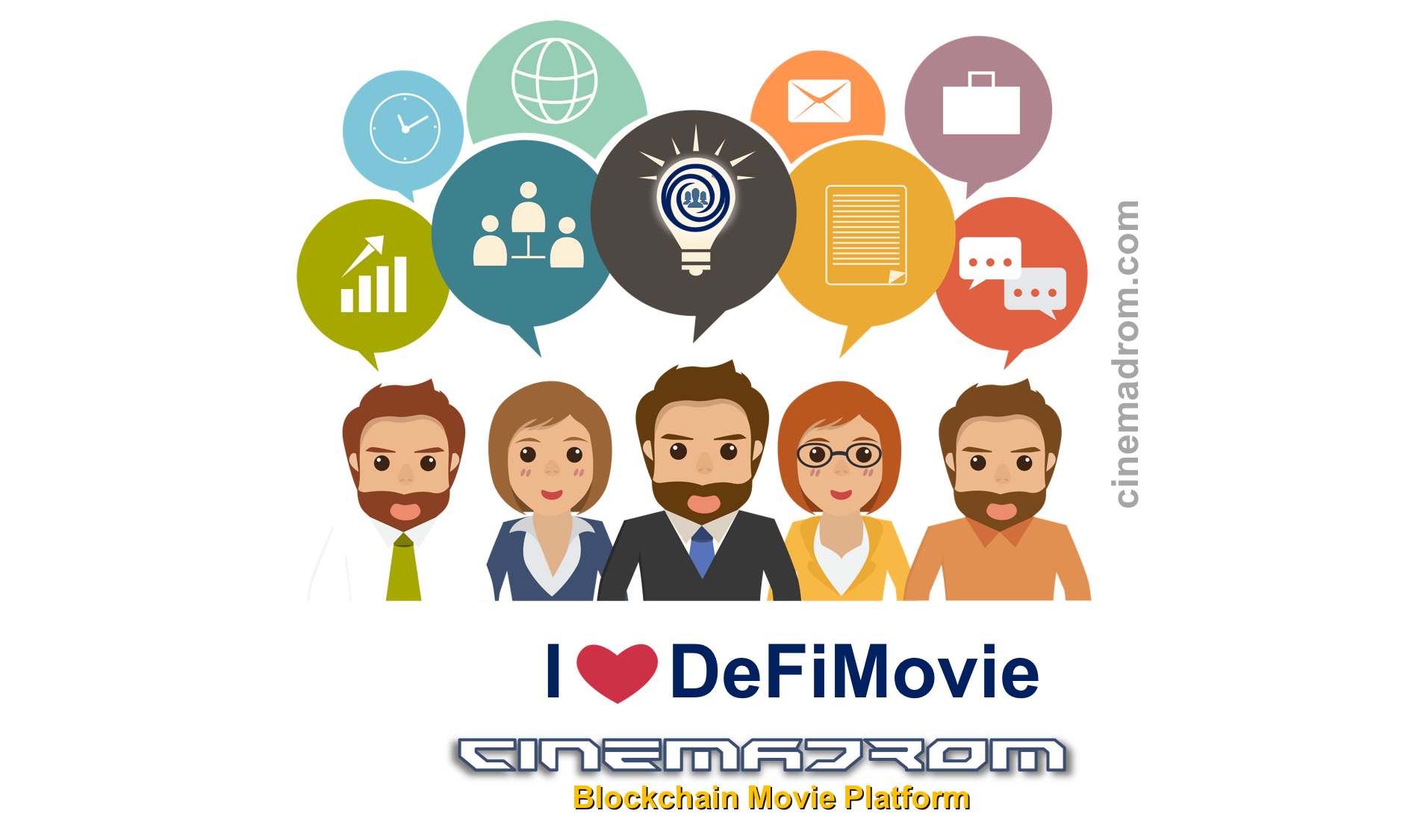 The Cinemadrom present DefiMovie protocol to create Money Markets.